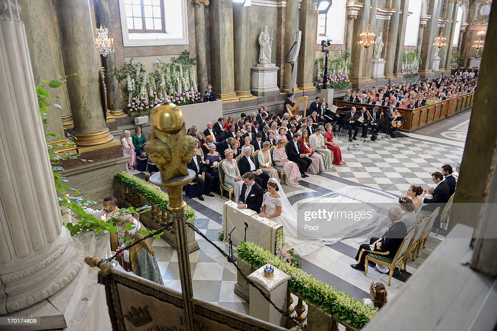 The Wedding Of Princess Madeleine Of Sweden & Christopher O'Neill : News Photo