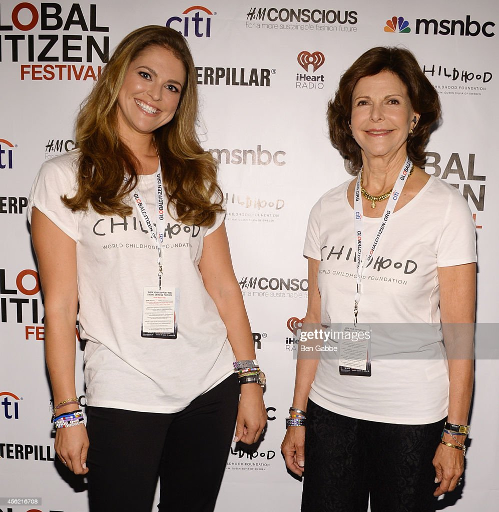 2014 Global Citizen Festival In Central Park To End Extreme Poverty By 2030 - Backstage : News Photo