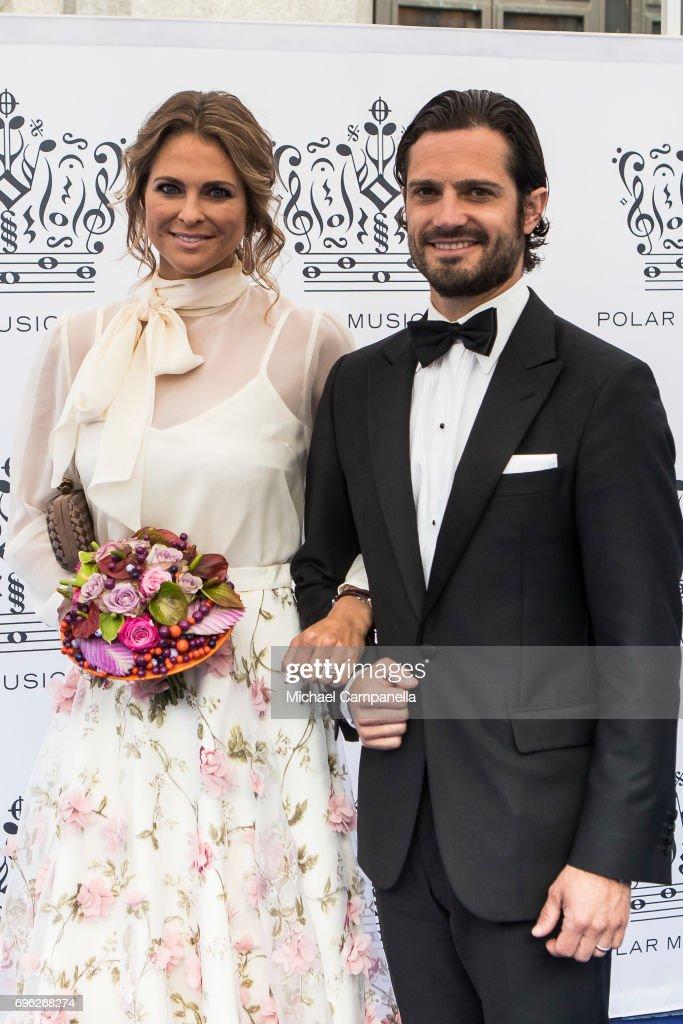 Swedish Royals Attend Polar Music Prize : News Photo