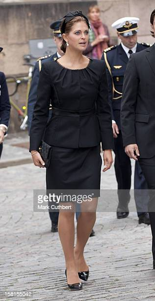Princess Madeleine Of Sweden At A Service In Connection With The Opening Of The Parliamentary Session Stockholm Cathedral Stockholm