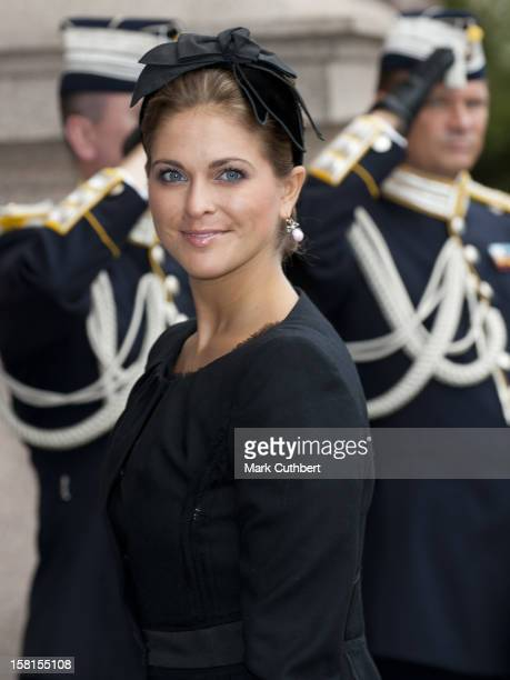 Princess Madeleine Of Sweden At The Opening Of The Parliamentary Session The Riksdag Stockholm