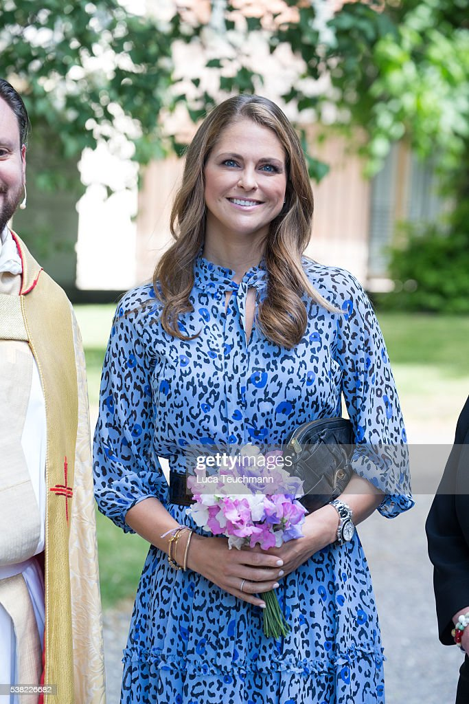 Princess Madeleine of Sweden Attends Jarvsomassan : News Photo