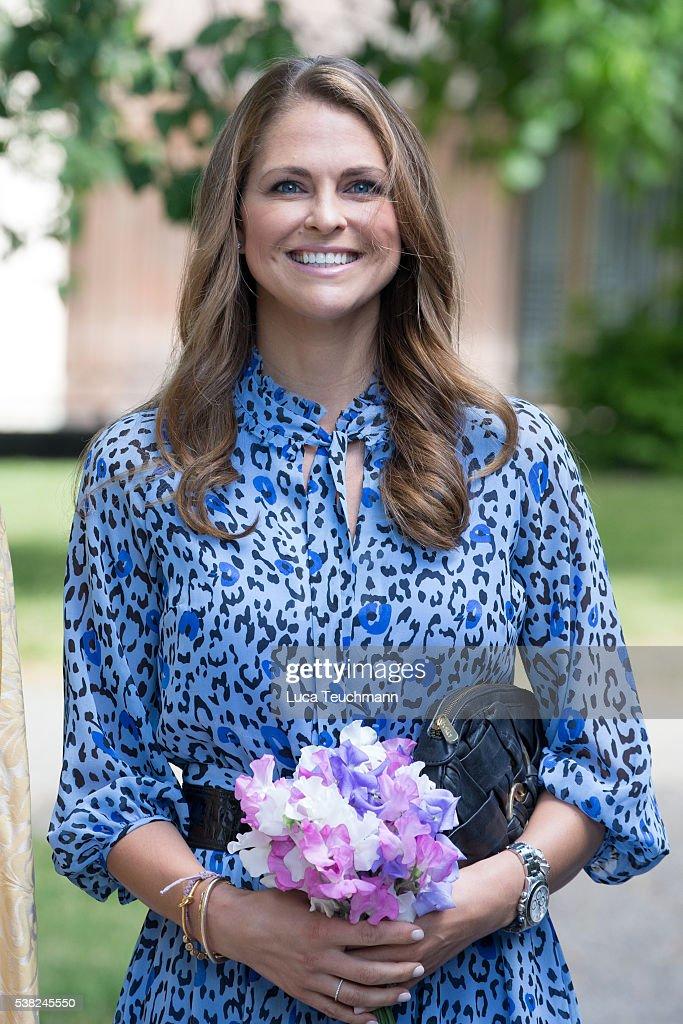 Princess Madeleine of Sweden Attends Jarvsomassan : News Photo