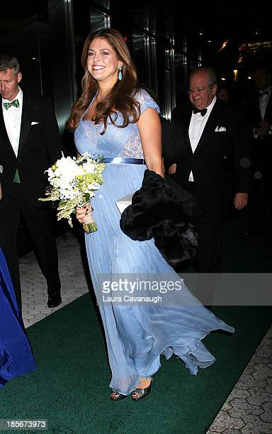 Princess Madeleine of Sweden attends the 2013 New York Green Summit and royal gala award dinner at Apella on October 23, 2013 in New York City.