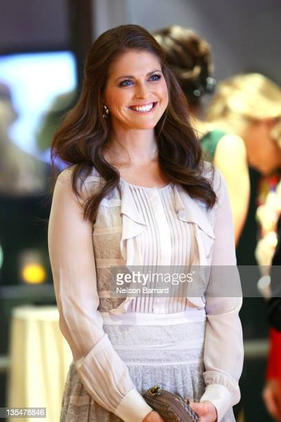 Princess Madeleine of Sweden attends the Celebrating Women in Science 2011 event at the New York Academy of Sciences on December 10 2011 in New York...