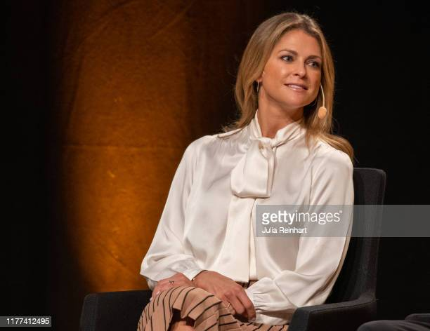 Princess Madeleine of Sweden attends the launch of her book 'Stella and the Secret' at the Gothenburg Book Fair on September 27, 2019 at Svenska...