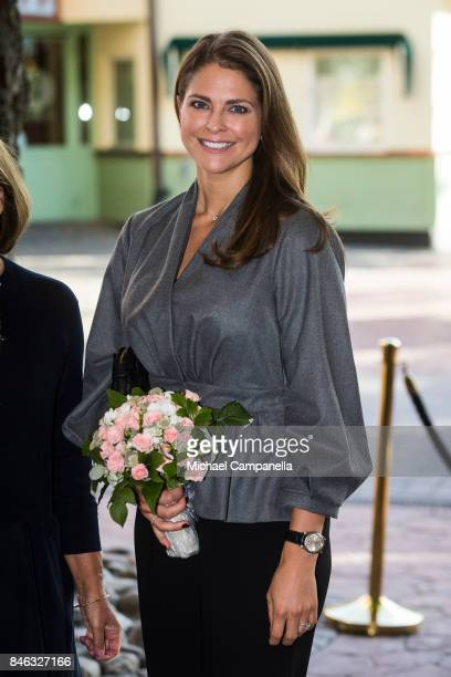 Princess Madeleine of Sweden attends the 'The Invisibility Project' seminar hosted by My GreatDay foundation at Grona Lund on September 13 2017 in...