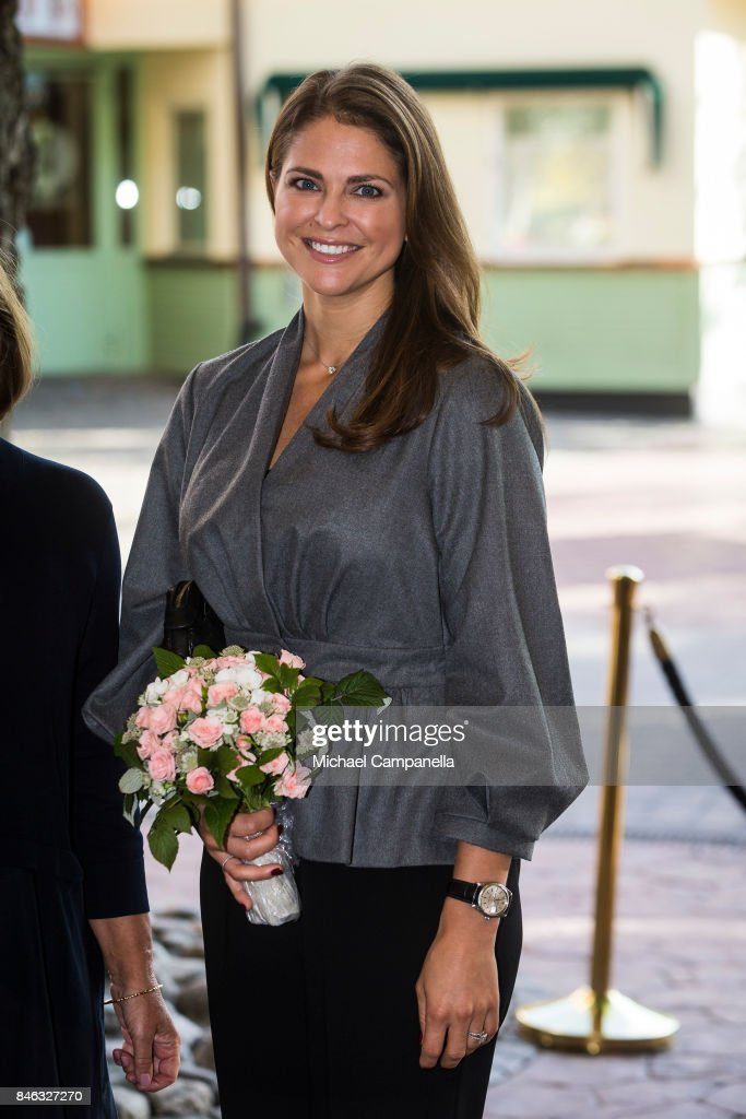 Princess Madeleine of Sweden Attends Foundation My Great-Day Seminar 'The Invisibility Project' : News Photo