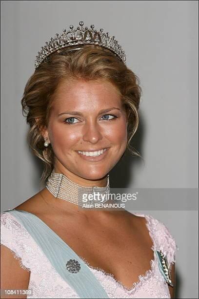Princess Madeleine of Sweden in Stockholm, Sweden on April 30, 2006.