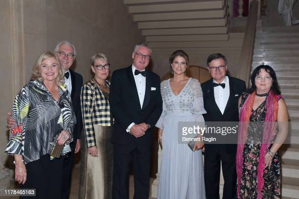 Princess Madeleine of Sweden, Kenneth Bengtsson and guests attend the World Childhood Foundation USA's 20th Anniversary Thank You Gala 2019 at the...