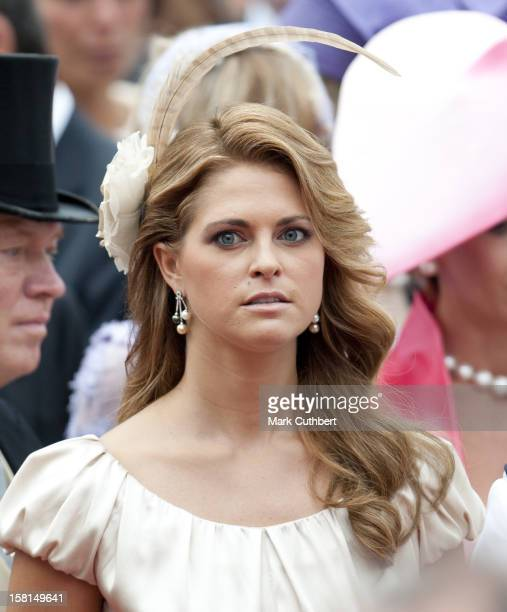 Princess Madeleine Of Sweden Leaving The Royal Palace In Monaco After The Wedding Of Hsh Prince Albert Ii Of Monaco To Miss Charlene Wittstock
