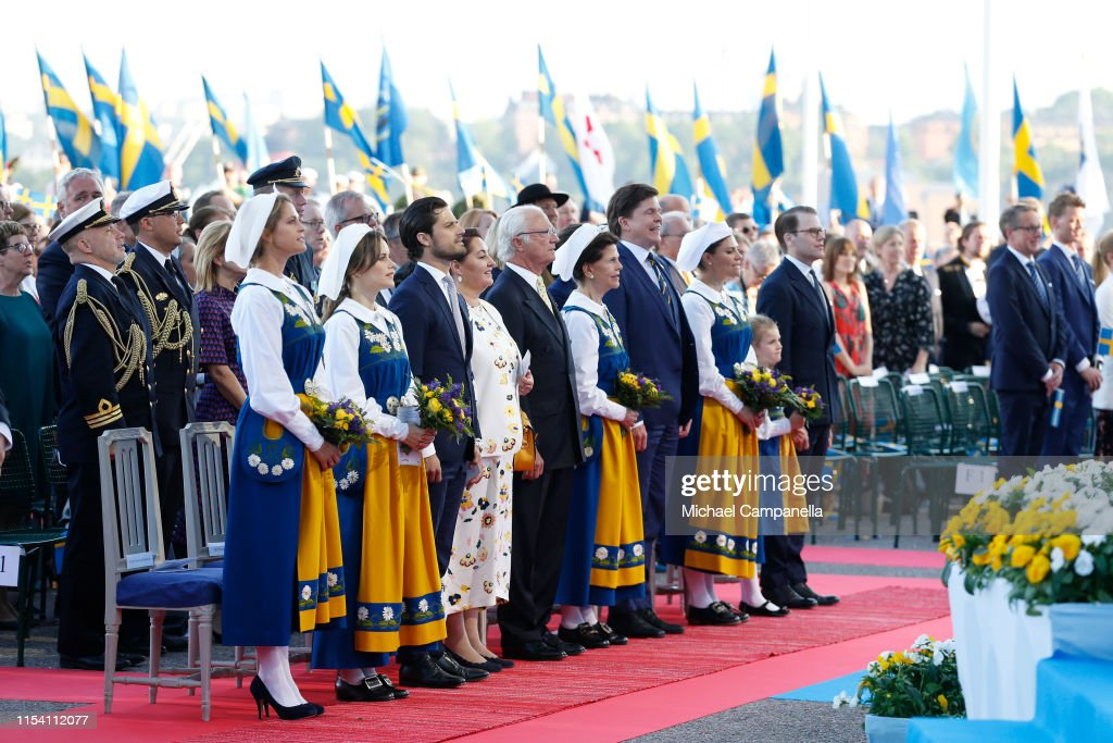 National Day in Sweden 2019 : News Photo