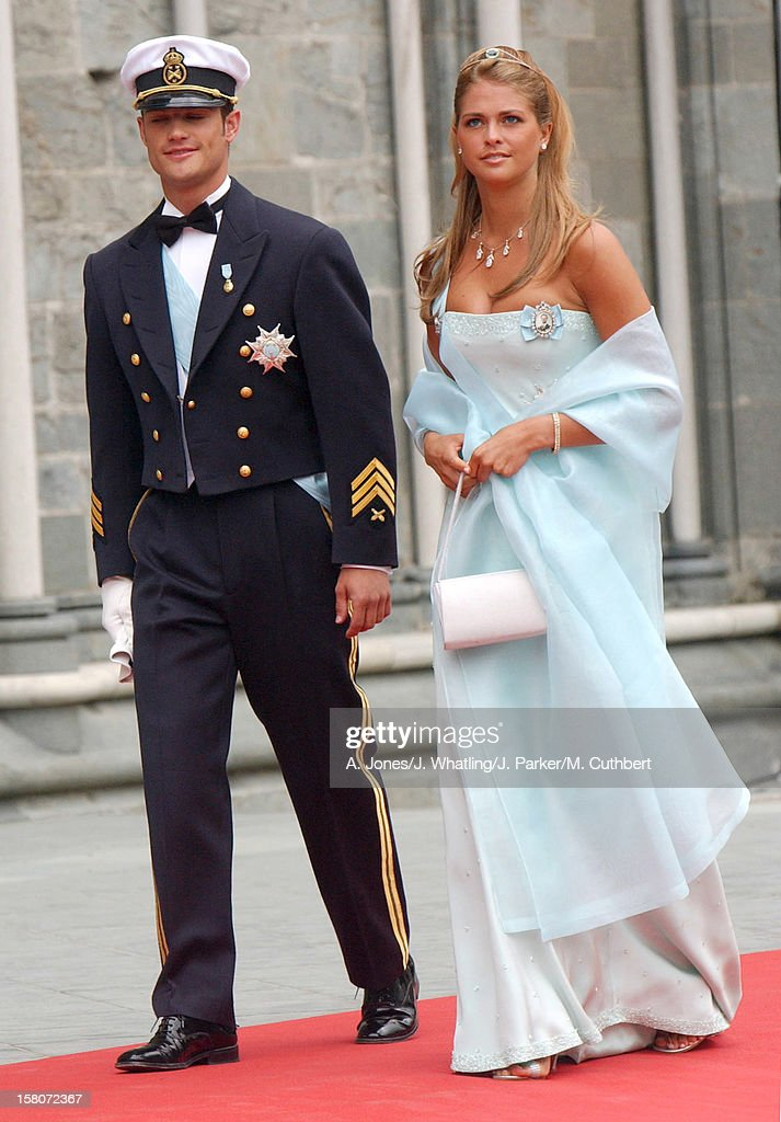 The Wedding Of Princess Martha Louise Of Norway And Ari Behn : News Photo