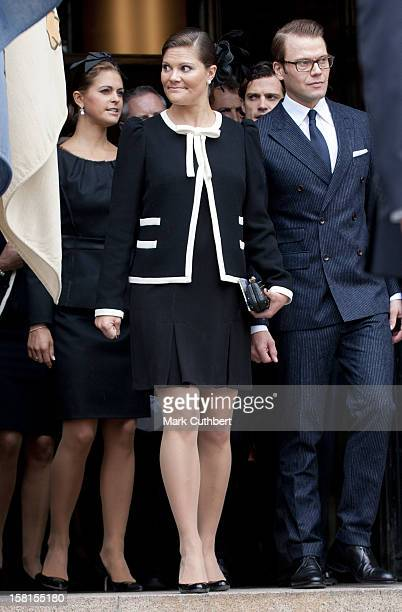Princess Madeleine Prince Daniel And Princess Victoria Of Sweden At The Opening Of The Parliamentary Session The Riksdag Stockholm