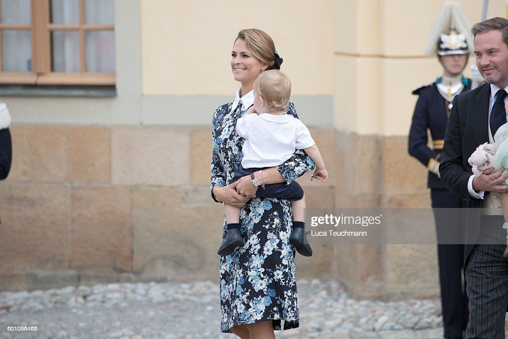 Christening of Prince Alexander of Sweden : News Photo