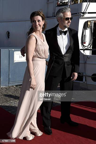 Princess Maertha Louise of Norway and her husband Ari Behn attend the PreWedding Dinner for Prince Carl Philip and Sofia Hellqvist on June 12 2015 in...