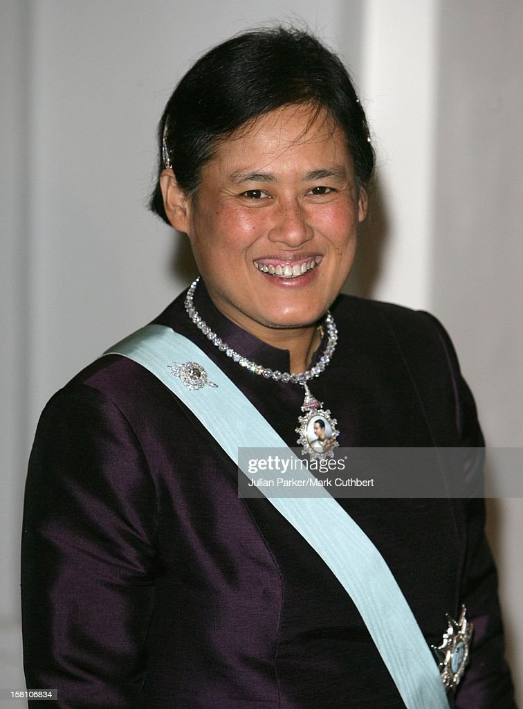 Princess Maha Chakri Sirindhorn Of Thailand Attends King Carl Gustaf Of Sweden'S 60Th Birthday Celebrations.Gala Dinner At The Royal Palace, Stockholm.
