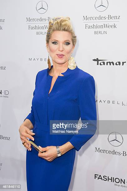 Princess Maja Synke of Hohenzollern attends the Riani show during the MercedesBenz Fashion Week Berlin Autumn/Winter 2015/16 at Brandenburg Gate on...
