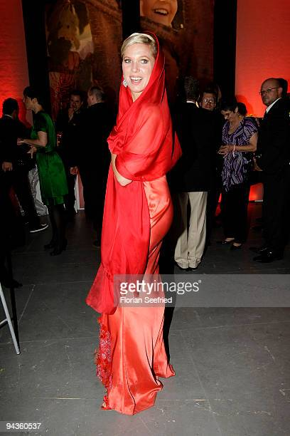 Princess Maja Synke von Hohenzollern attend the aftershow party of 'Ein Herz fuer Kinder' Gala at Studio 20 at Adlershof on December 12 2009 in...