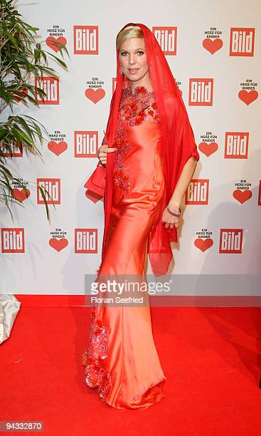 Entertainment Online Subscriptions GLR Included Princess Maja Synke von Hohenzollern attends the 'Ein Herz fuer Kinder' Gala at Studio 20 at...