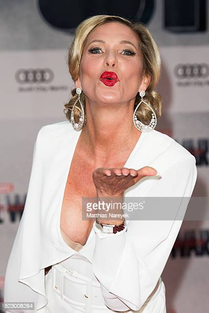 Princess Maja Synke von Hohenzollern attends the 'The First Avenger Civil' War Berlin Premiere at Sony Centre on April 21 2016 in Berlin Germany