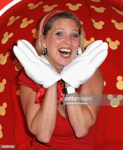 Princess Maja von Hohenzollern attends Mickey Mouse Magic Party at Disneyland Resort on March 28 2009 in Marne la Vallee France