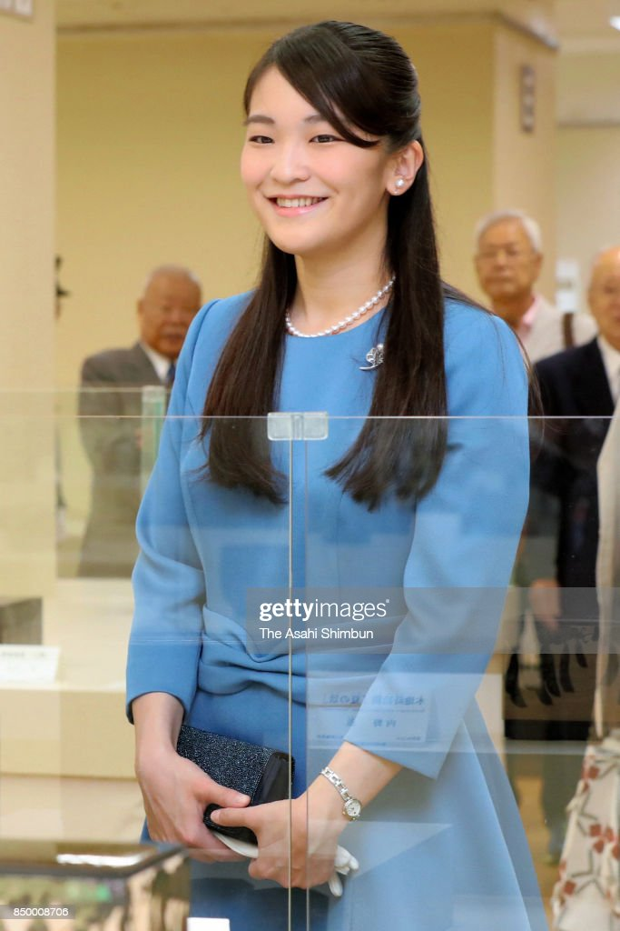 Princess Mako Of Akishino Attends Japan Traditional Crafts Exhibition