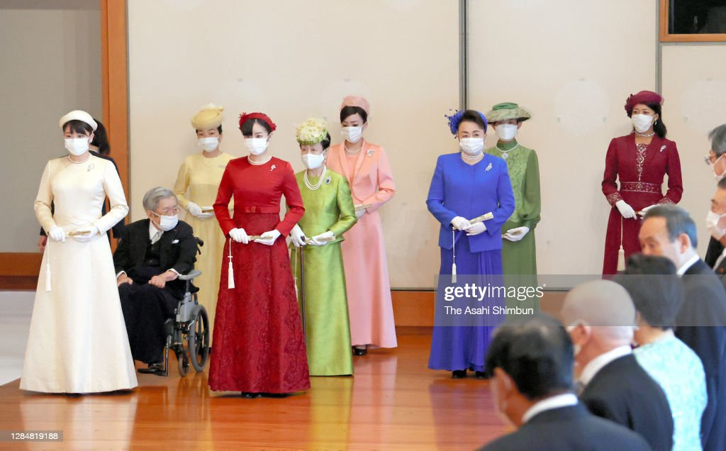 Japan Proclaims Crown Prince Akishino First In Line To Imperial Throne : News Photo