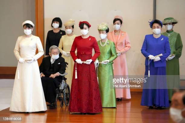 Princess Mako of Akishino, Prince Hitachi, Princess Akiko of Mikasa, Princess Kako of Akishino, Princess Hanako of Hitachi, Princess Yoko of Mikasa,...