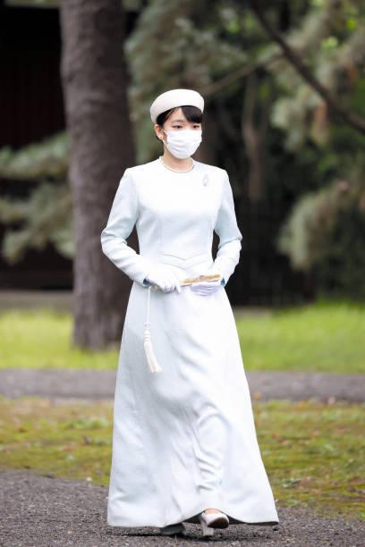 JPN: Princess Mako Of Akishino Visits Three Palace Sanctuaries Before Marriage With Commoner Kei Komuro
