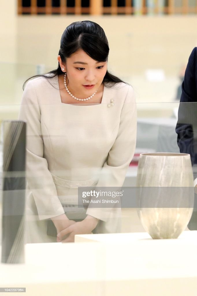 Princess Mako of Akishino Attend Japan Craftsmanship Award Ceremony