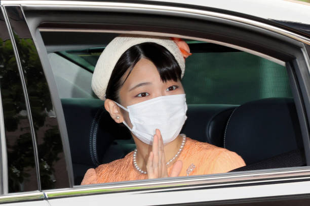 JPN: Princess Mako Of Akishino Meets Emperor Emeritus And Empress Emerita Before Commoner Kei Komuro