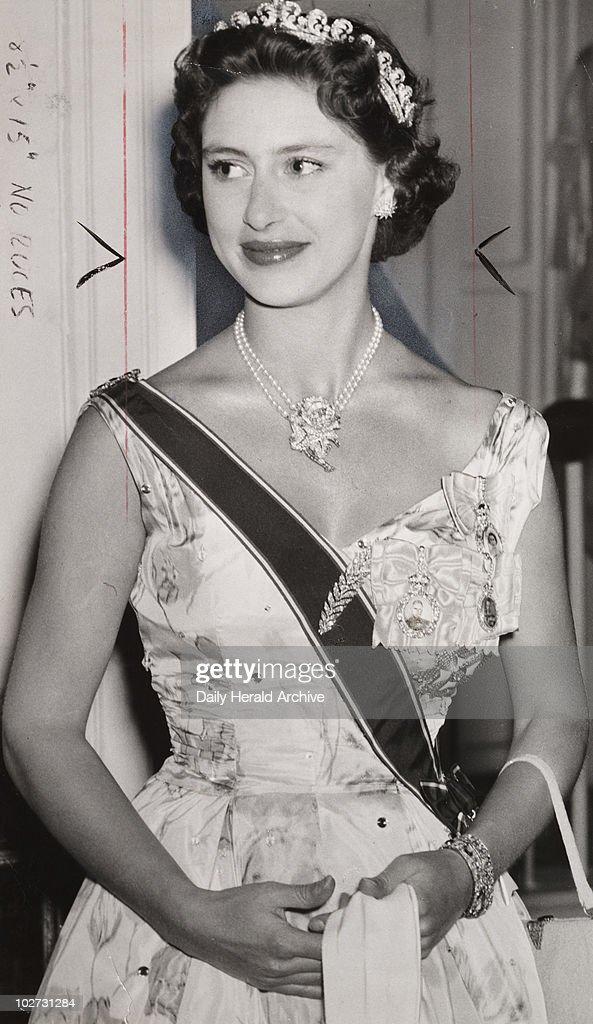 "Princess Margaret, 1955."" : News Photo"