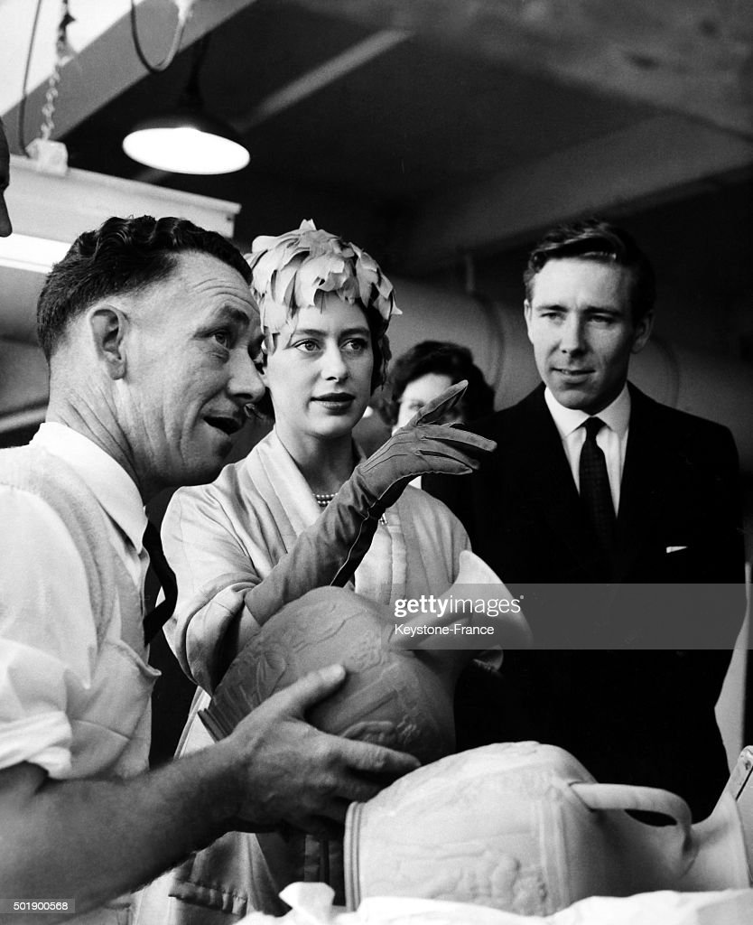 Princess Margaret And Husband Antony Armstrong Jones Visit The News Photo Getty Images