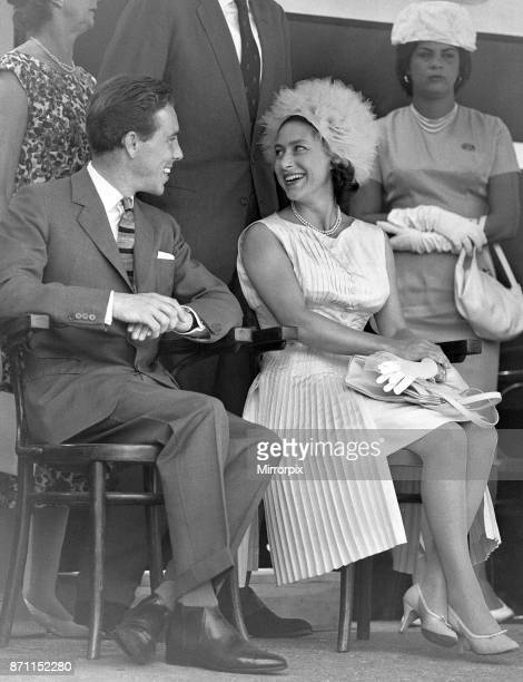Princess Margaret and Lord Snowdon Antony Armstrong Jones seen here during the ceremony to mark the independence of the Island of Jamaica 6th August...