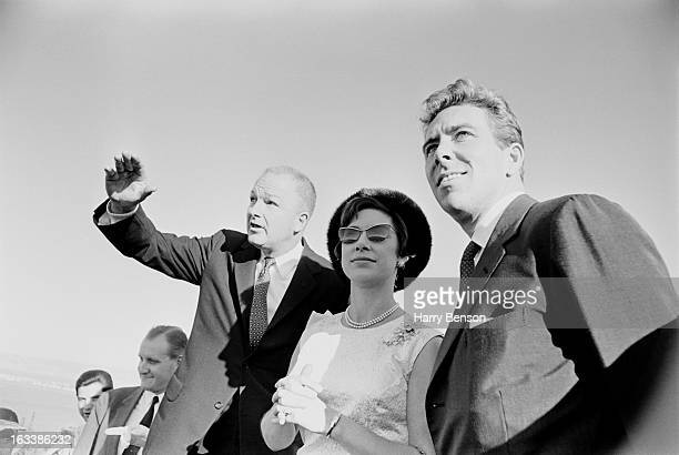 Princess Margaret and Lord Snowdon in San Francisco during a visit to America, 7th November 1965.