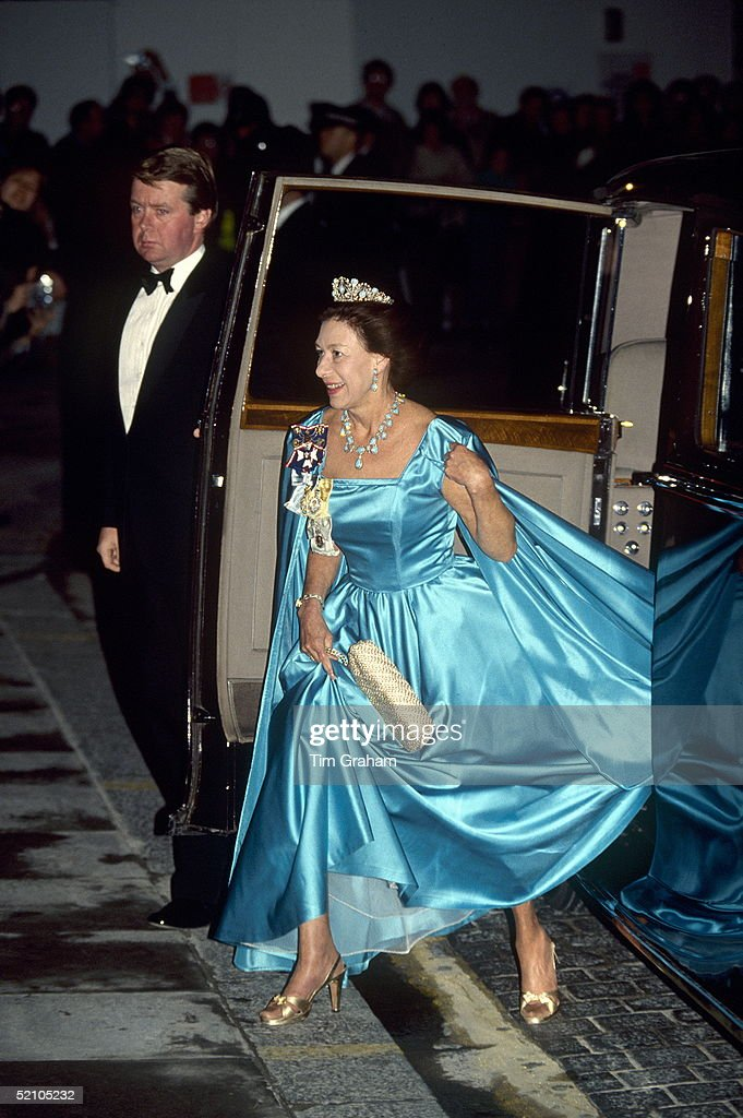 Margaret Evening Dress : News Photo