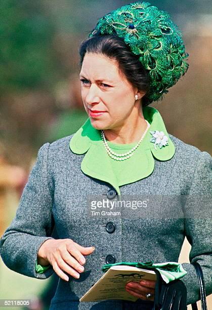Princess Margaret At A Pony Day At Ascot