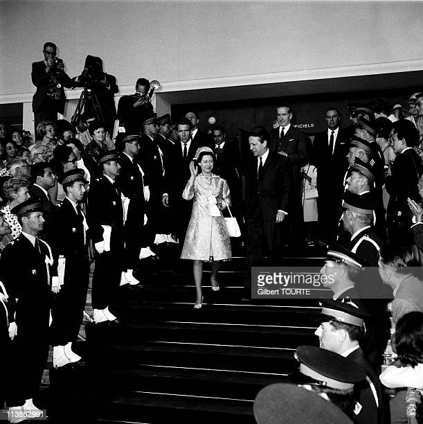 Princess Margaret at Cannes Film Festival in 1966