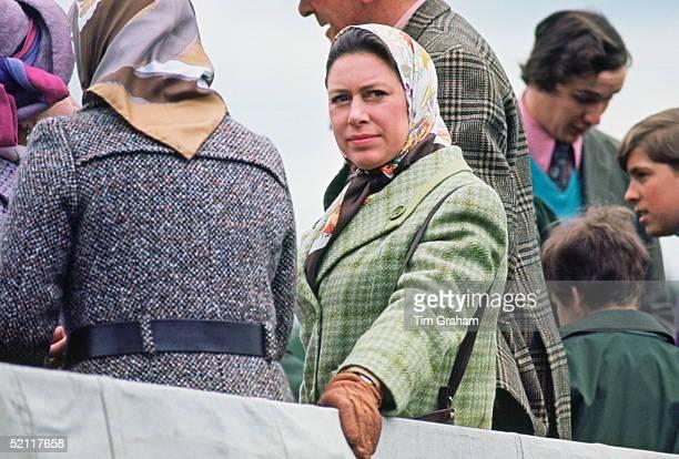 Princess Margaret At The Badminton Horse Trials