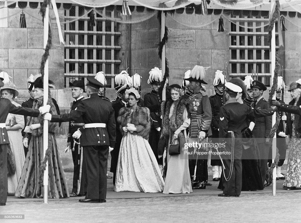 Princess Margaret At New Church : News Photo