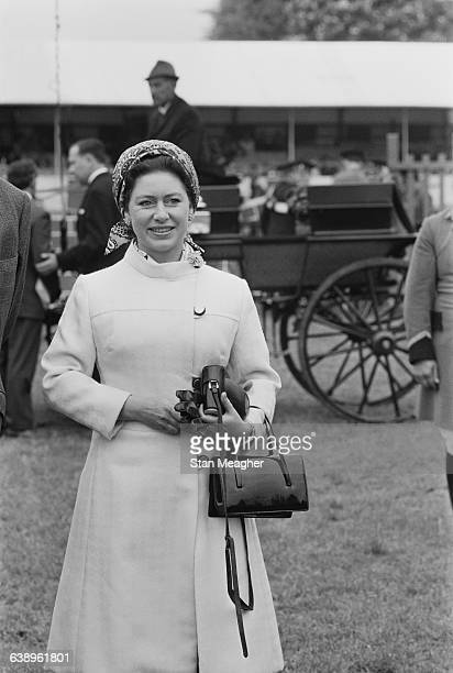 Princess Margaret at the Royal Windsor Horse Show UK 16th May 1971