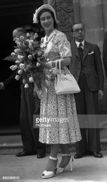 Princess Margaret attends a London function The Princess will be 19 years of age on August 21st 1949 *9/2/02 Princess Margaret has died peacefully in...