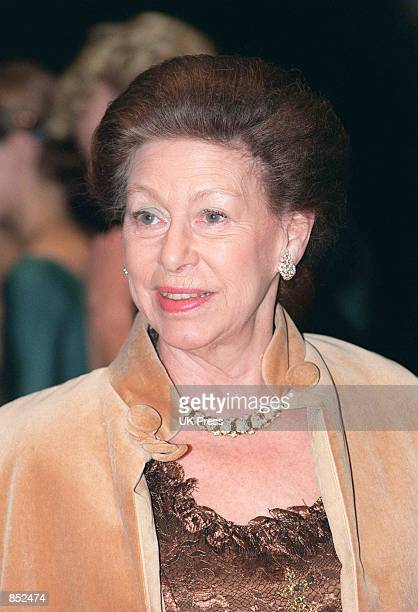 Princess Margaret attends a performance at the Sadler's Wells Theatre October 20 1998 in London England