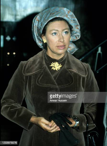 Princess Margaret attends an event circa 1980 in London England