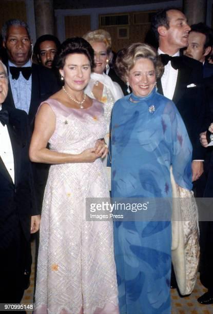 Princess Margaret circa 1985 in New York City.
