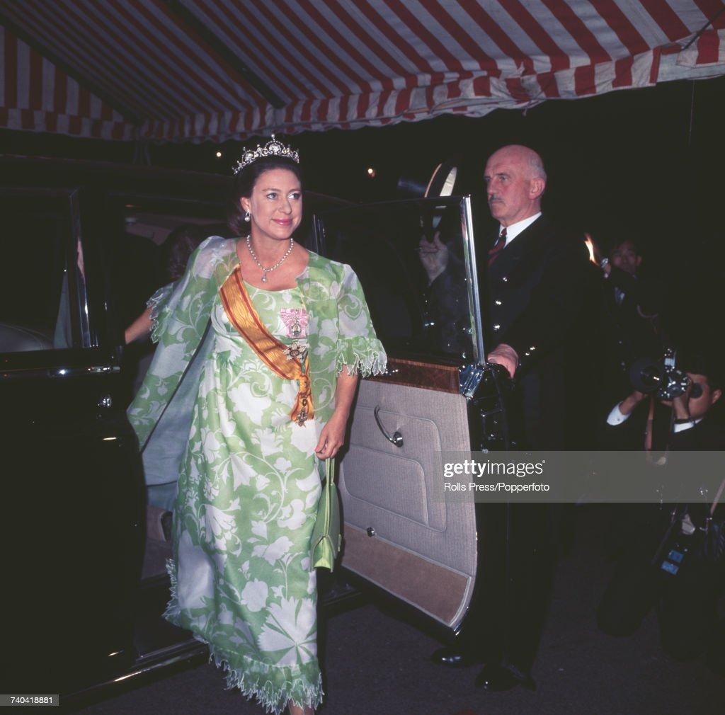 Emperor Hirohito Visits London : News Photo