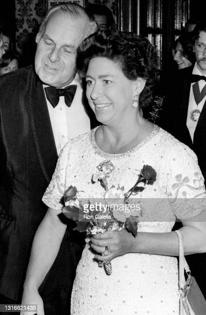 Princess Margaret, Countess of Snowdon attends Royal Ballet Gala Performance at Sadler's Wells Theater in London, England on September 29, 1976.