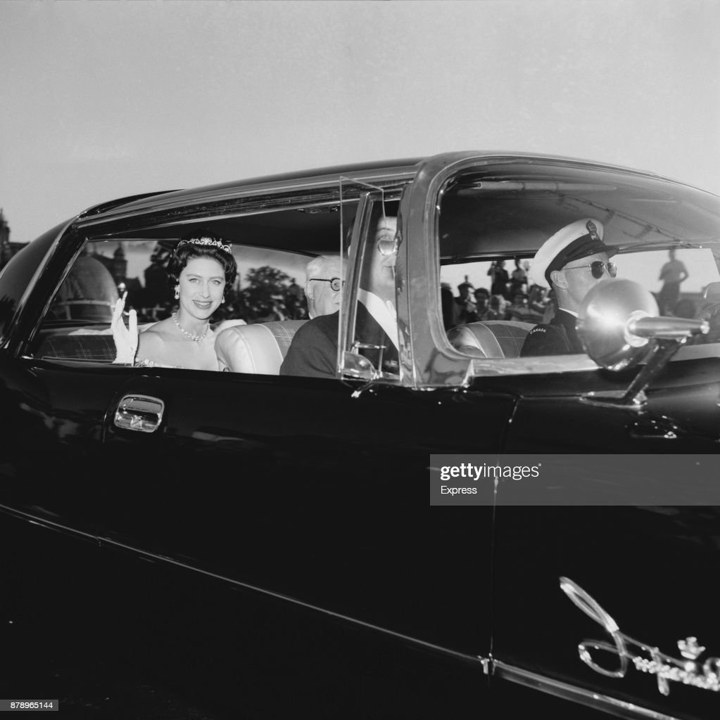Princess Margaret in Canada : News Photo