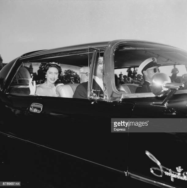 Princess Margaret Countess of Snowdon during her Canadian Tour 18th July 1958